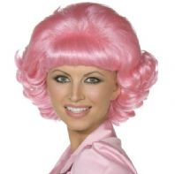 Frenchy Pink Lady Wig (42127)